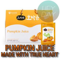 오가닉가든 고이담은 호박즙 90mlx30포/ Organic Garden pumpkin juice 90mlx30 Packs/Diet Juice