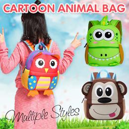 儿童书包/ 幼儿园学生卡通可爱双肩背包 动物潜水料书包