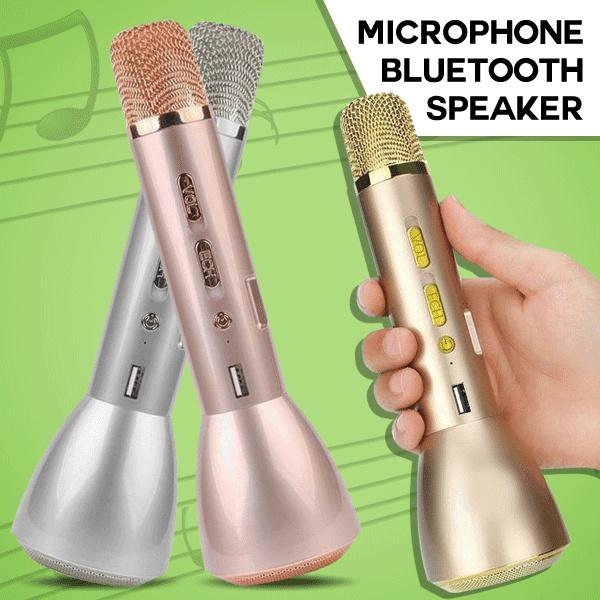 New KTV-K088 Mini Magic Wireless Karaoke Player Microphone Bluetooth Speaker Mic Deals for only Rp157.000 instead of Rp157.000