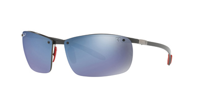 66ca32381d Ray-Ban Sunglasses Scuderia Ferrari Collection - RB8305M F005H0 - size 64