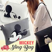 RESTOCK! MICKEY SLING BAG / SHOULDER BAG / 3 COLORS / tas wanita tas slempang sling bag