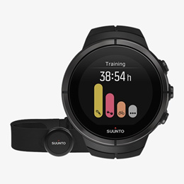Suunto Spartan Ultra All Black Titanium SS022654000 智能多功能手錶 連 心跳帶
