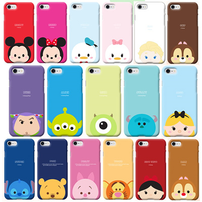 cheap for discount 5a840 eb719 DISNEY TSUM TSUM HARD CASE for iPhone X 8 7 6S 6 Plus 5 5S SE Mobile Smart  Phone
