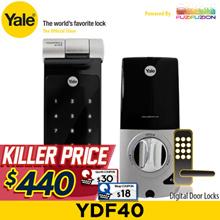 Yale YDF40 Digital Door Lock / 1+1 Year Local Yale Warranty (Free Installation)