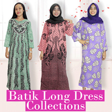 Batik Long Dress Collections 4 - Batik Alhadi
