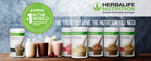 HERBALIFE DELICIOUS SHAKES MADE IN ITALY LOW IN G.I. BENEFICIAL TO GLUCOSE LEVEL