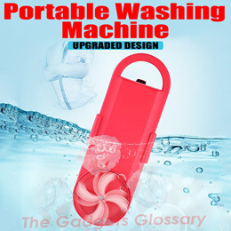 Portable Mini Washing Machine Compact Powerful Small Washer LG Samsung Singapore Seller
