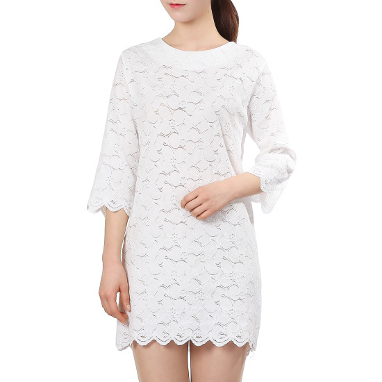 ラブLAPラブリーワンピースAH2WO342 面ワンピース/ 韓国ファッション