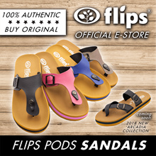 ★MID-YEAR-SALE★Flips™★Authentic Flips Pods™/Water Resistant Comfort Sandals/Non-skid Rubber