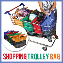FREE SHIPPING TODAY PURCHASED!SHOPPING TROLLEY BAG ONSALE! HARGA TERMURAH DIJAMIN! HIGH QUALITY WITH SUPER LOW PRICE!(Random Colours)
