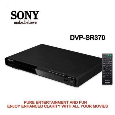 SONYSony DVD Player DVP-SR370 (1 YEAR SHOP WARRANTY )