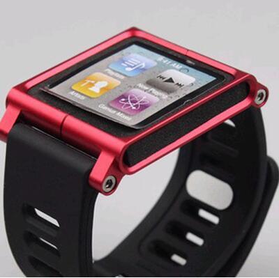 Le Ipod Nano6 Strap Lunatik Watch Wrist Metal Sleeve