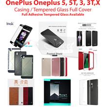 Full Cover Tempered Glass/Case*Oneplus 5/5T//3/3T/2/X NILLKIN IMAK MOFI