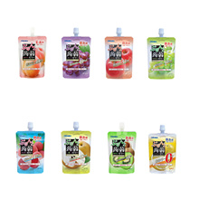 Free Shipping ★ ★ Free Shipping Oruhi Konjac jelly stand 130g / 8 pieces per set / 130g per one large konjac jelly / diet snacks / peach grapes Kiwi Pear Lychee grapefruit applesauce