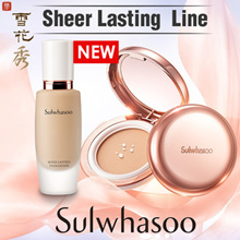 [Sulwhasoo] Sheer Lasting Gel Cushion 12g / Sheer Lasting Foundation 30ml