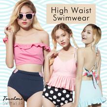 [Touchme Swimwear] HIGH WAIST BIKINI - HIGH WAIST SWIMWEAR - MIX AND MATCH