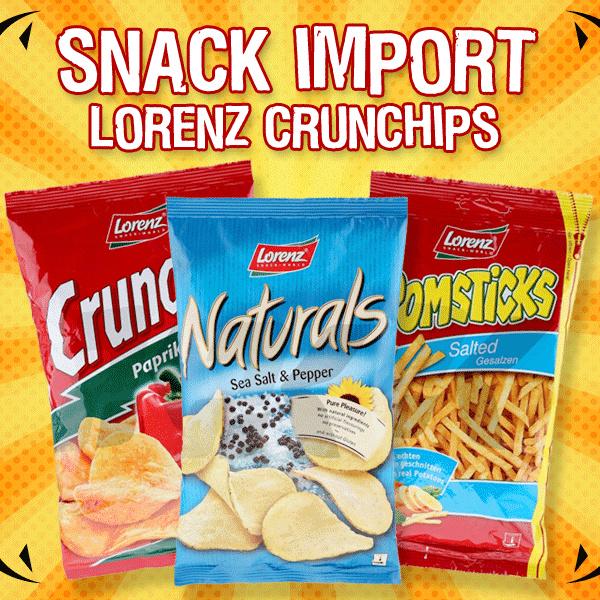 [SNACK IMPORT] Lorenz Crucnhips terbuat dari kentang yang diiris tipis tanpa campuran tepung Deals for only Rp30.000 instead of Rp30.000