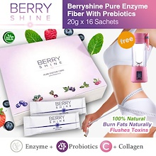 ★Kenkoway *NEW BATCH* BERRYSHINE ENZYME FIBER 100% NATURAL WITH PREBIOTICS / Free Local Delivery