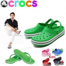 【limited 50 qty】slippers CROC S sandals Men shoes women shoes kids shoes/CROC S slippers