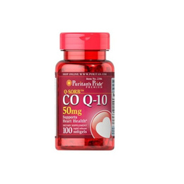 Puritan s Pride QSORB Co Q10 50 mg 100 Softgels