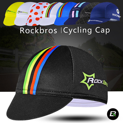 RockBros Cycling Black Hat Windproof Headband Winter Fleece Thermal Cap