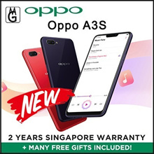 Oppo A3S Local Warranty / 3gb ram / 32gb rom / Cases and Screen Protector Included