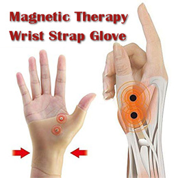 Magnetic Therapy Wrist Thumb Support Wrist Hand Gloves Waterproof Elastic Silicone Pain Relief