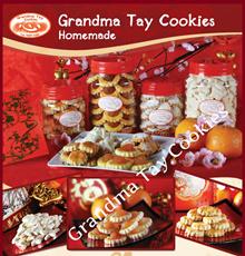 CNY Handmade Cookies. Best Selling Pineappple Tarts / Almond Cookies / Kueh Bangkit / Peanut Cookies