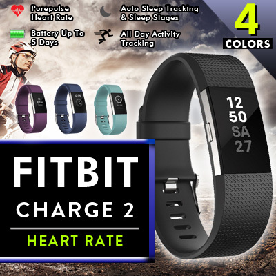 FITBIT CHARGE 2 Heart Rate Deals for only S$248 instead of S$0
