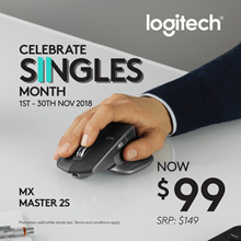 Logitech MX Master 2S Wireless Mouse (910-005142)