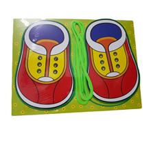Mainan Edukasi Papan Jahit Sepatu