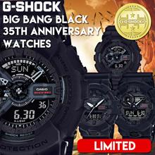 Casio G-Shock BIG BANG BLACK 35th Anniversary Limited Watches GA-135A-1AGA-735A-1AGA-835A-1A