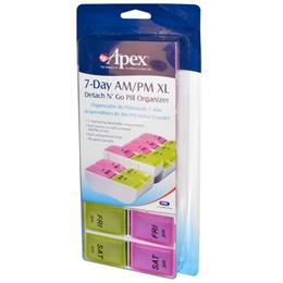 DNG Apex 7-Day AM/PM XL 1 Pill Organizer