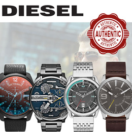 SG SELLER [DIESEL MENS WATCHES SALE] [FREE DELIVERY] FINAL CLEARANCE