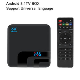 Android 8.1 TV BOX Set Top Box 2G+16G/4G+32G Universal Language H6 Chip Support Bluetooth USB2.0/3.0
