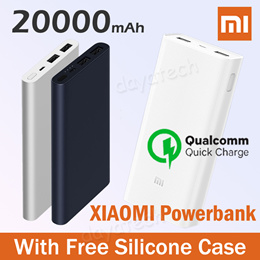 Xiaomi Powerbank Quick Charger Mi Power Bank 20000 10000 5000mAh 100% Authentic 【SG Fast Delivery】