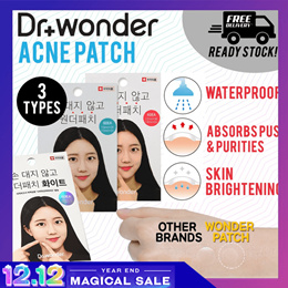 [24h-48h QX DELIVERY] ❤ Dr. wonder Wonder Patch / Patch (+) ❤ Direct From Brand Owner ❤ SG RDY STOCK