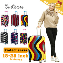 Free Delivery◆Stretchable Suitcase Protect Cover◆Luggage Protect Cover/  High Elastic n Wear-resistant Material/ Modern、Urban、CHIC Design/ 6 colors/ 3 sizes (18~28 inches)- XLXT12 Model