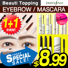Only 1-day Super Sale!!★1+1★innisfree★Eyebrow / Mascara Best / Auto Eyebrow Pencil *7 Colours