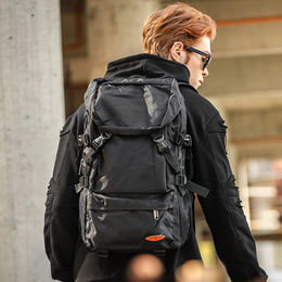 SGDetachable backpack man Han edition tide male Super computer bag backpack female bag bag