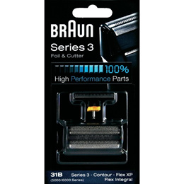 Braun 31B Combi Foil And Cutter Replacement Pack SHAVER 5000/6000 Series 3 31B Contour Flex XP