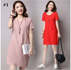 BESTSELLER!! [BUY1GET2!!] KOREA DRESS IMPORT and Local by Beryl Diva !! Dress wanita gaun pesta tunic maxi dress