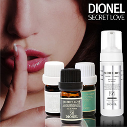 (DIONEL)  Secret Love Feminine Hygiene Perfume Cleanser Natural Aroma Fragrance Scent : 5ml
