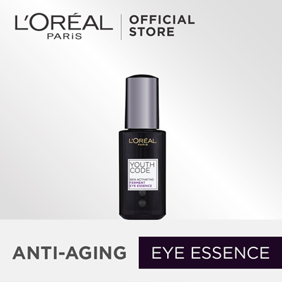 LOreal Youth Code Skin Activating Ferment Eye Essence 20ml/0.67oz Placenta Wrinkle Moisture Cream (4 oz)