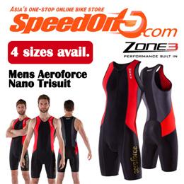 Zone3 Mens Aeroforce Nano Trisuit / Available in 4 sizes / Nano-Flo coating