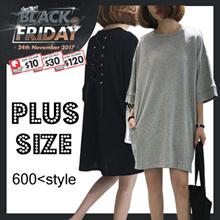 【24/11 NEW】2017 S-7XL NEW PLUS SIZE FASHION LADY DRESS OL BLOUSE PANTS TOP