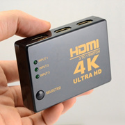 4K*2K HDMI 3in 1out Switch Splitter TV Switcher Box Ultra HD for HDTV PC 1080P