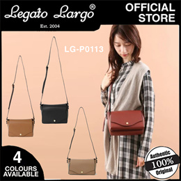 LEGATO LARGO LINEARE LIGHTWEIGHT SHOULDER PURSE (4 COLOURS)