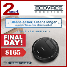 [USE COUPON] ECOVACS DEEBOT N78 ROBOT VACUUM CLEANER / WET AND DRY MOP FUNCTION / ONE YEAR WARRANTY