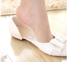 Ms. heels foot wear non-slip comfort insole elastic heel shoes to keep abreast of the stick